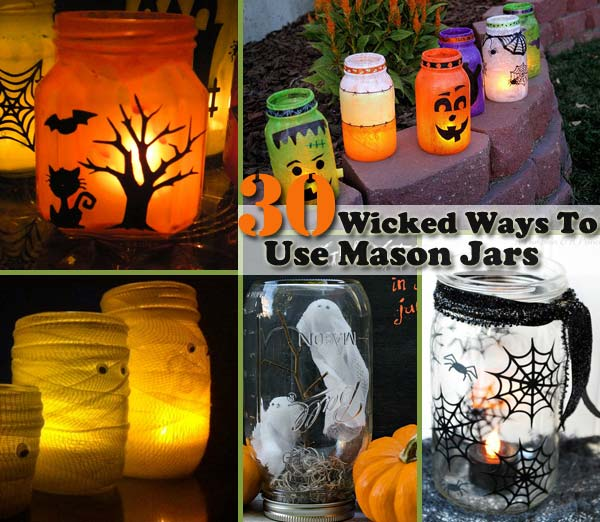 Top 30 Diy Spooky Mason Jars For This Halloween