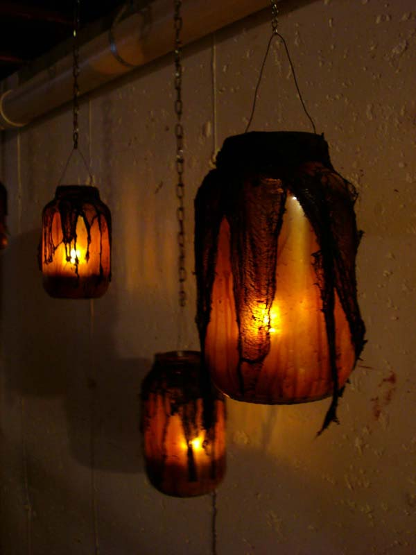 Michaels Halloween String Lights : Top 30 DIY Spooky Mason Jars for This Halloween - Amazing DIY, Interior & Home Design