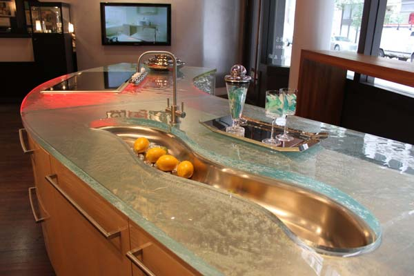 22 modern and stylish glass kitchen countertop ideas amazing diy