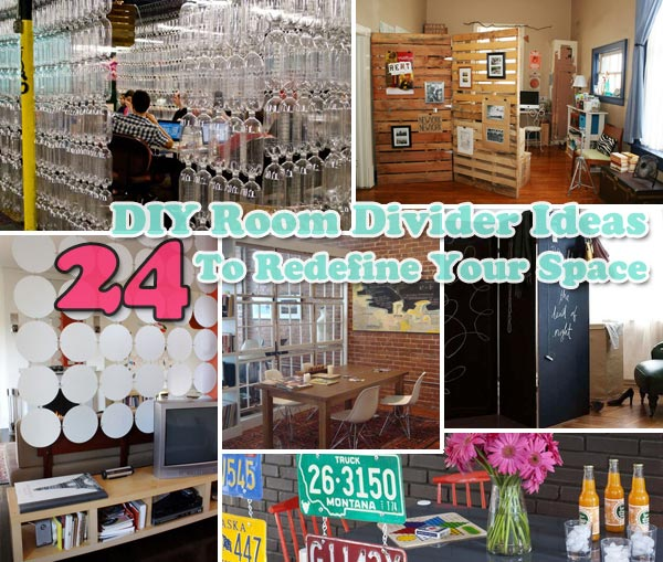 24 Fantastic Diy Room Dividers To Redefine Your E