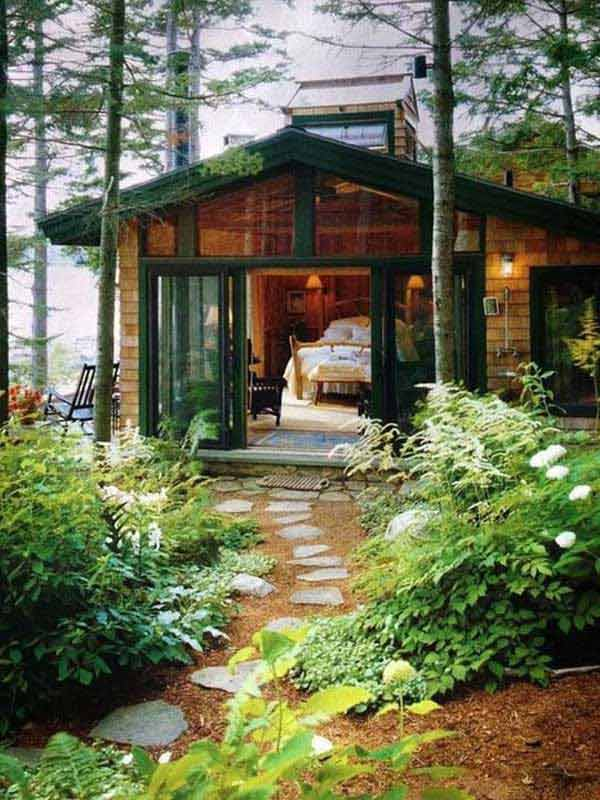 23 breathtaking forest fringed wood cabins amazing diy for Texas cabins in the woods