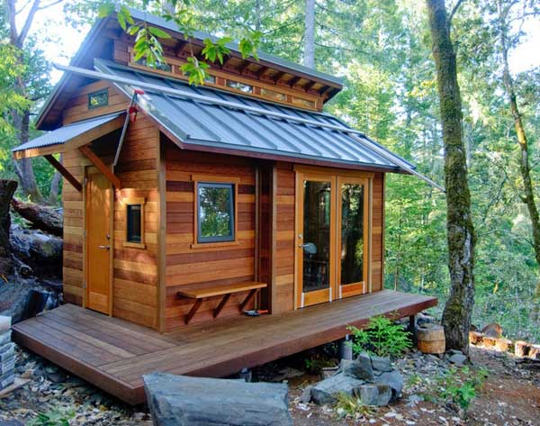 23 breathtaking forest fringed wood cabins amazing diy for Diy cabins and cottages
