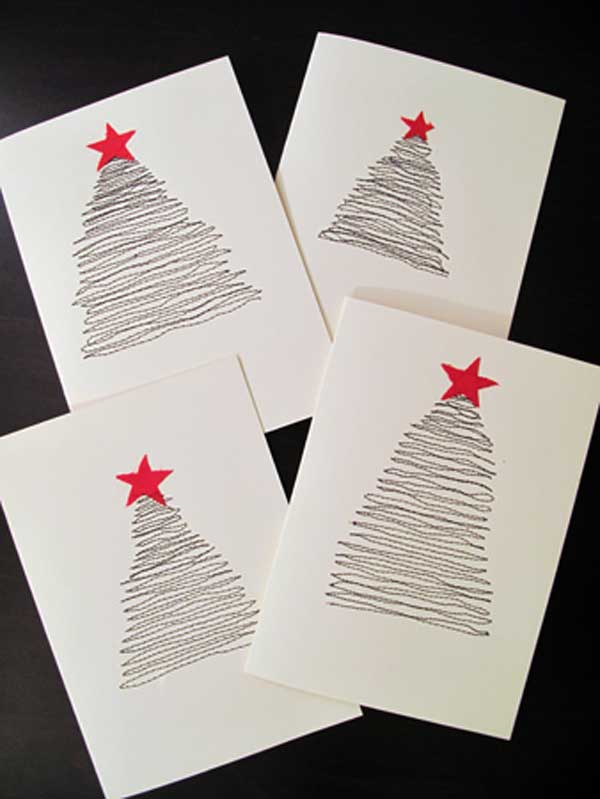 DIY-Christmas-postcard-ideas-22