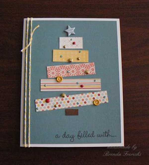DIY-Christmas-postcard-ideas-27