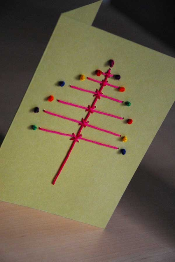 DIY-Christmas-postcard-ideas-31-2