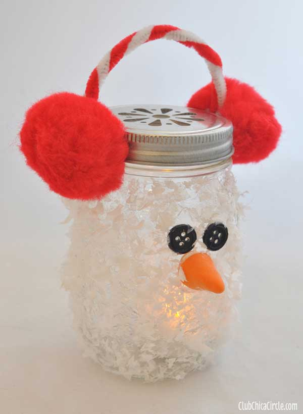 holiday mason jar crafts 1