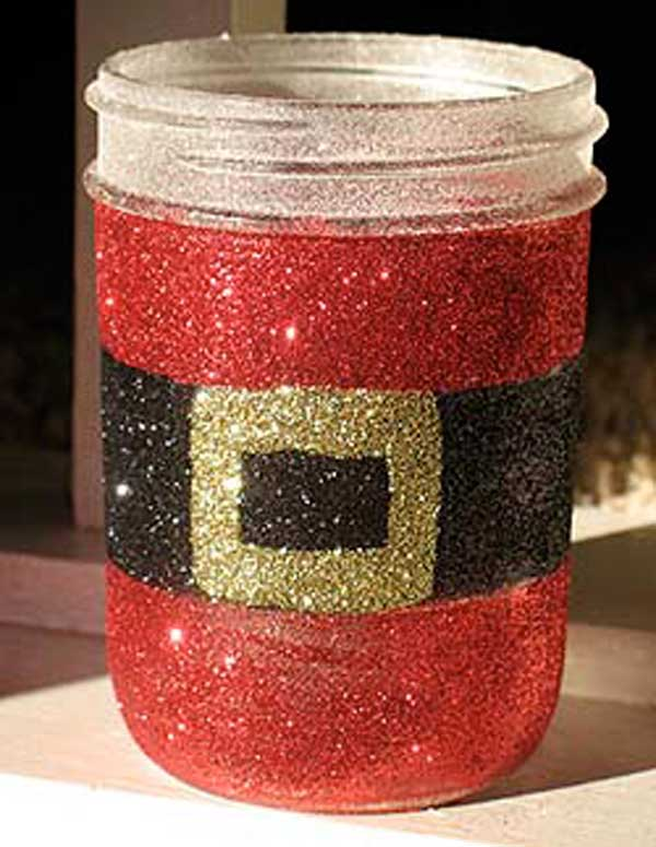 holiday mason jar crafts 15 - How To Decorate Mason Jars For Christmas