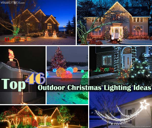 outdoor christmas lighting decorations 0 - How To Decorate A Ranch Style Home For Christmas