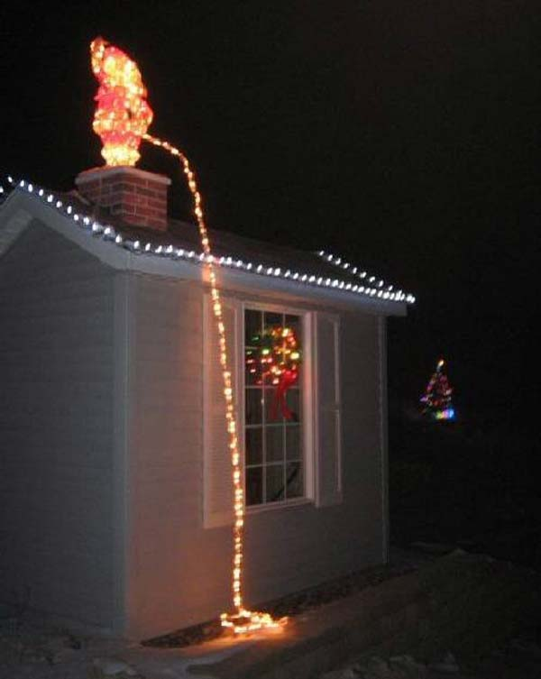 outdoor christmas lighting decorations 11 - Christmas Lights Decorations Outdoor Ideas