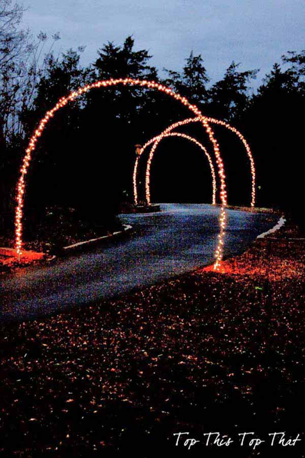 Top 46 Outdoor Christmas Lighting Ideas Illuminate The Holiday  - Christmas Lights Display Ideas