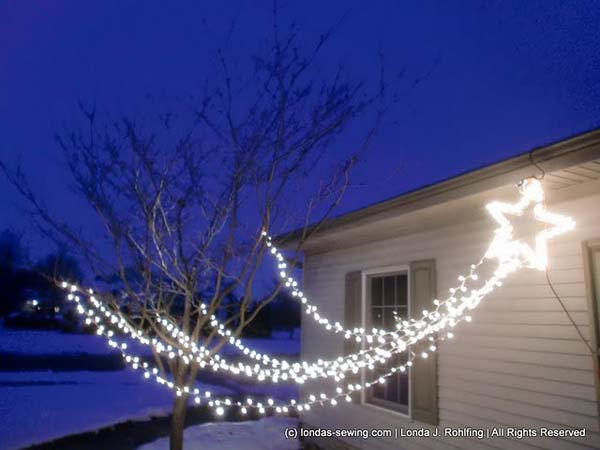 Christmas Decorations Outdoor Star : Top outdoor christmas lighting ideas illuminate the