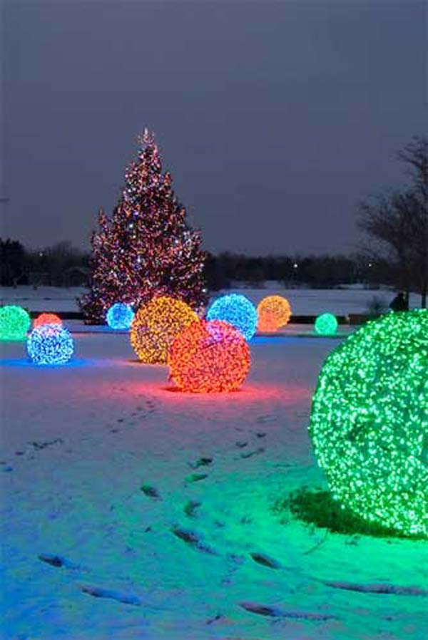 outdoor christmas lighting decorations 4 - Cool Christmas Light Ideas