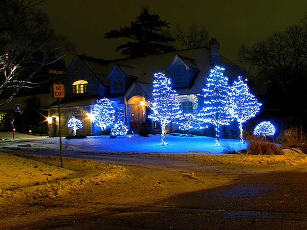 Christmas Light Ideas.Top 46 Outdoor Christmas Lighting Ideas Illuminate The