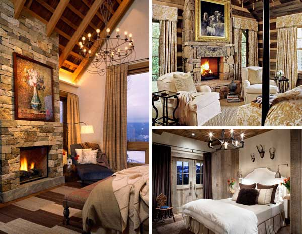 Love Rustic Interiors Especially During The Winter Months When All
