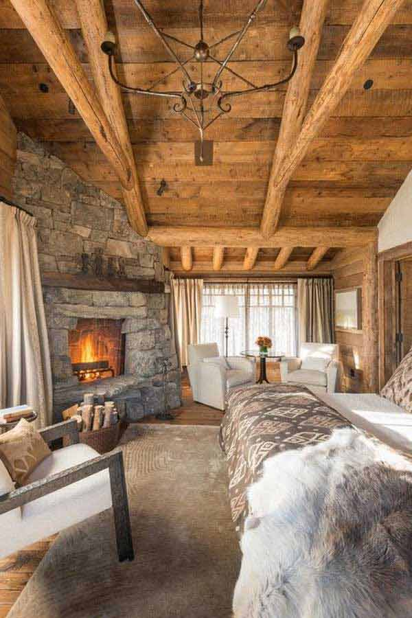22 Inspiring Rustic Bedroom Designs For This Winter