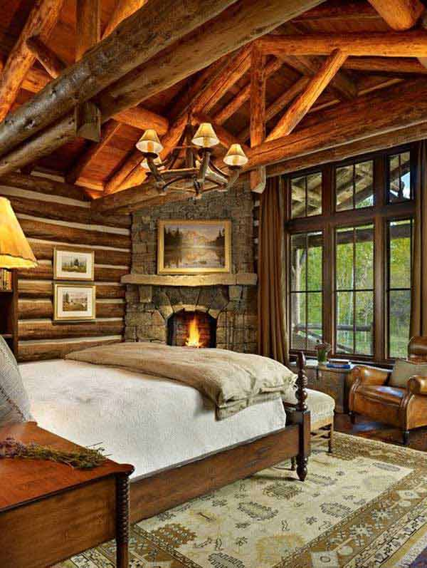 22 Inspiring Rustic Bedroom Designs For This Winter ...