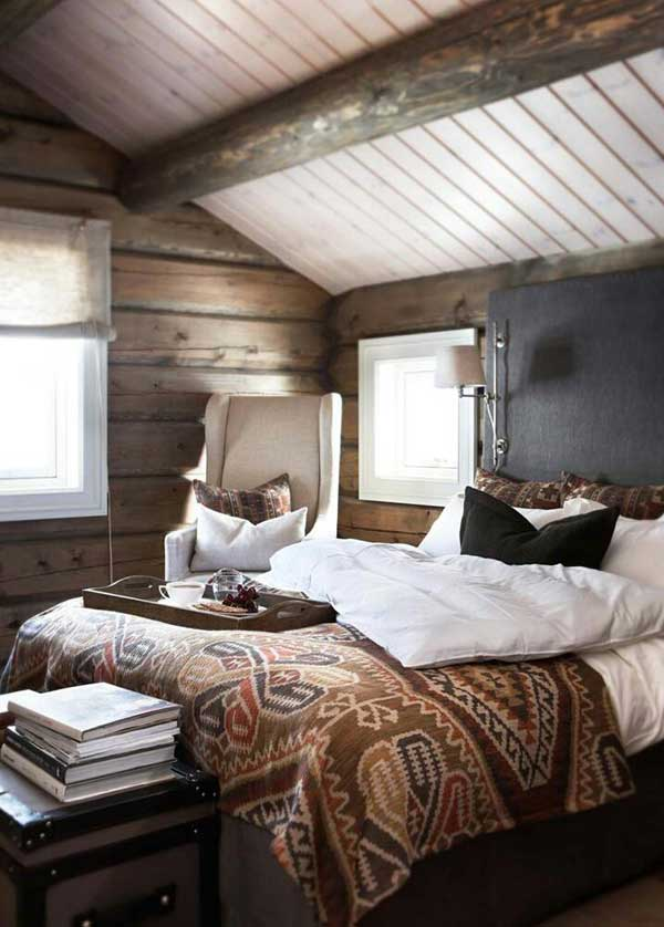 22 Inspiring Rustic Bedroom Designs For This Winter ... on Teenage:rfnoincytf8= Room Designs  id=42108