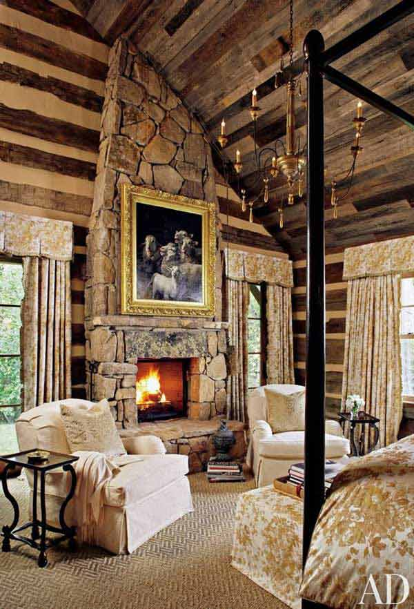 22 Inspiring Rustic Bedroom Designs For This Winter ... on Cheap:l2Opoiauzas= Bedroom Ideas  id=19674