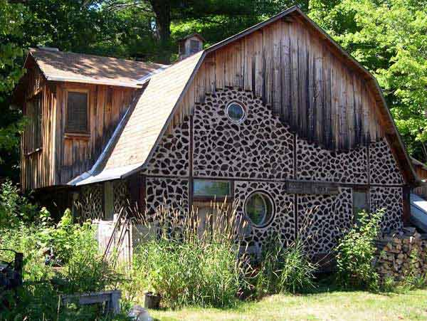 Natural Cordwood Masonry Cabins