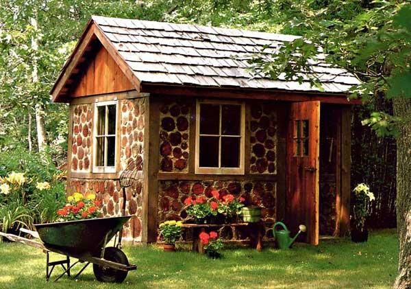 Natural Cordwood Masonry Cabins