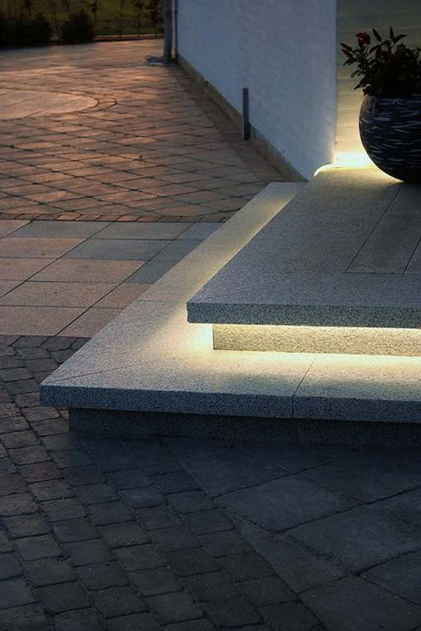 30 astonishing step lighting ideas for outdoor space architecture