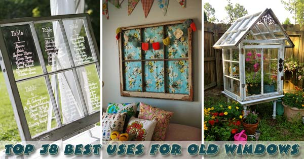 Top 38 best ways to repurpose and reuse old windows for Where to recycle old windows