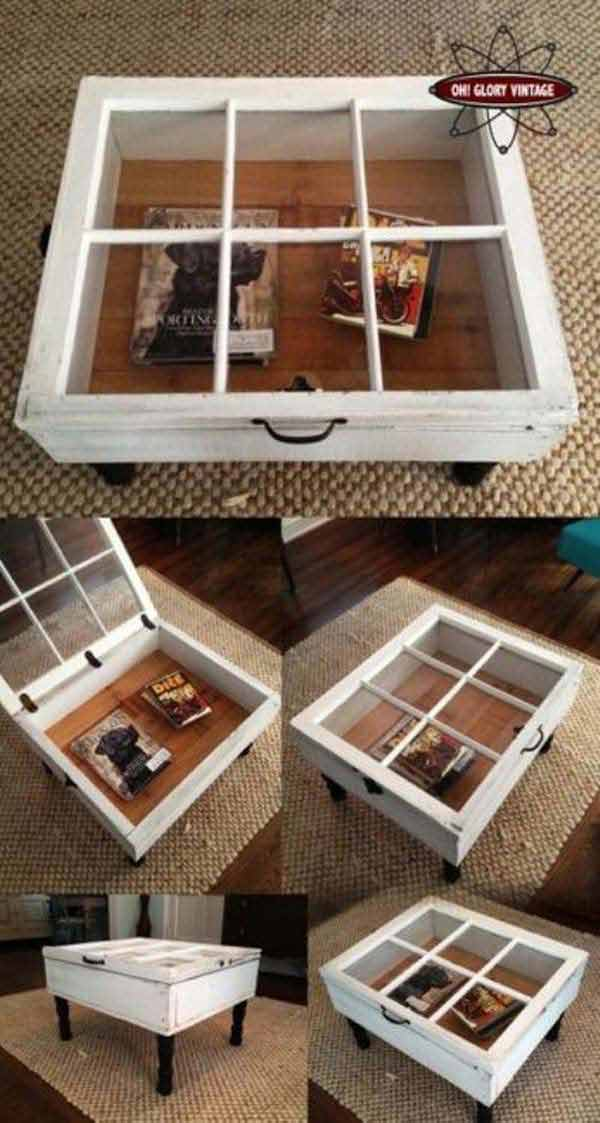 reuse old windows 8 Top 38 Best Ways To Repurpose