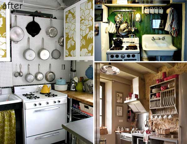 38 cool space saving small kitchen design ideas amazing for Kitchen designs for small houses