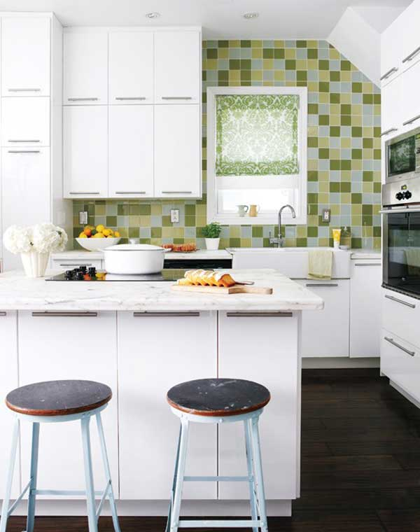 38 Cool Space-Saving Small Kitchen Design Ideas - Amazing DIY ...