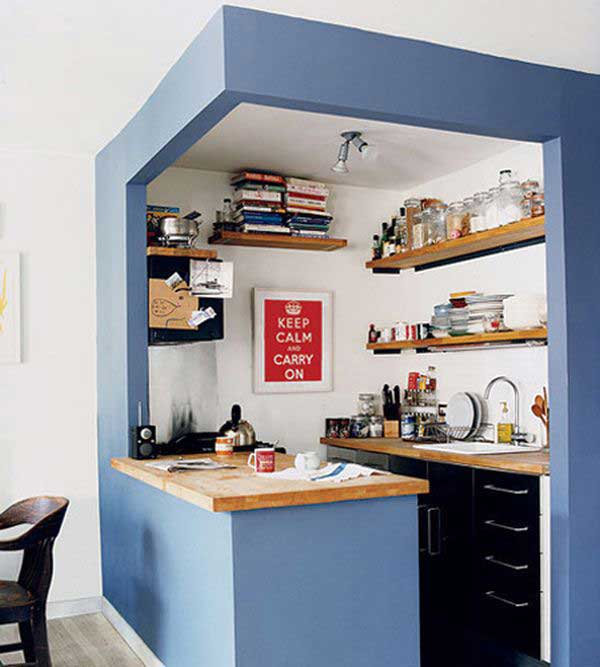 Narrow Kitchen Ideas Home 38 cool space-saving small kitchen design ideas