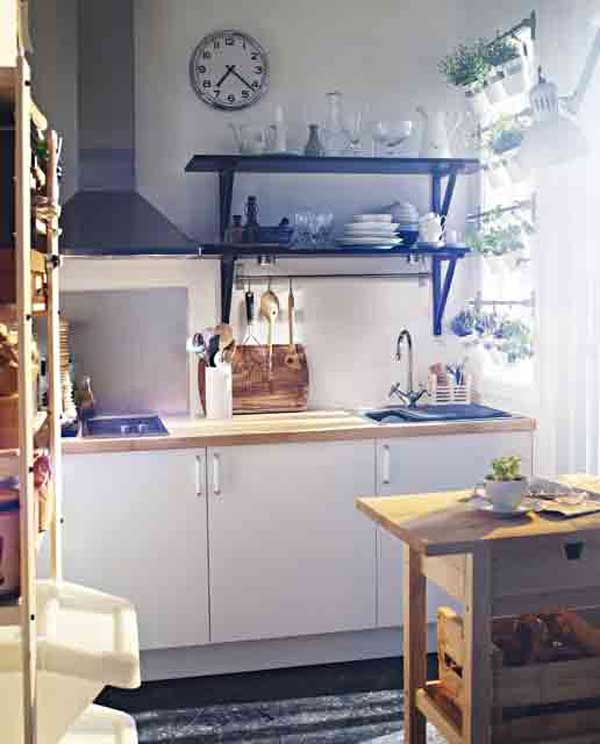 Cool Small Kitchen Ideas Part - 34: Small-kitchen-design-29