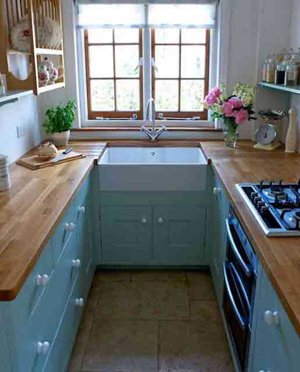 38 Cool SpaceSaving Small Kitchen Design Ideas
