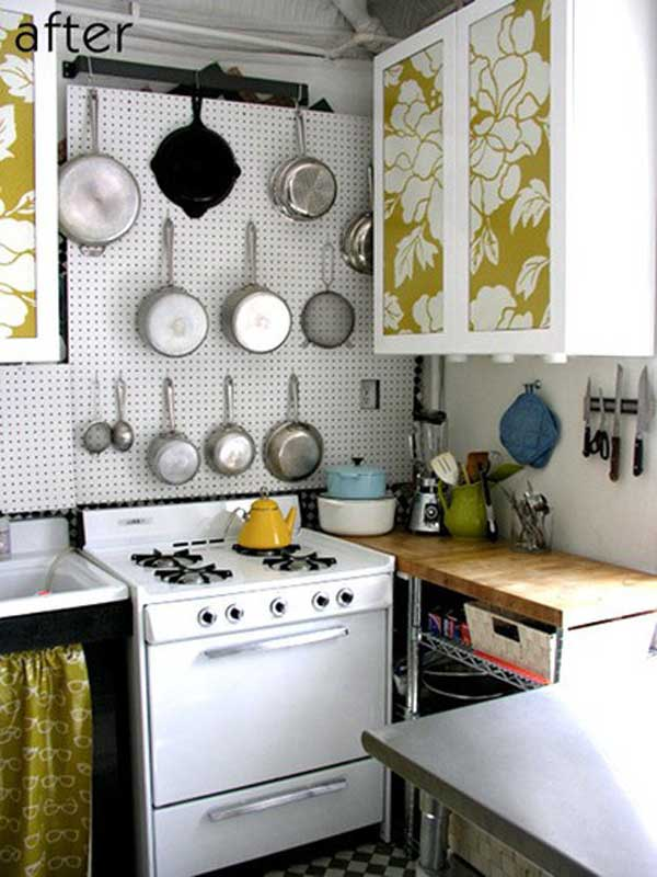Small Kitchen Space Saving Ideas 38 cool space-saving small kitchen design ideas - amazing diy