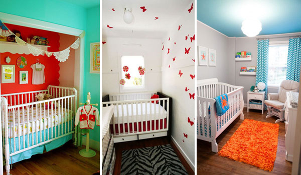22 steal worthy decorating ideas for small baby nurseries for Baby room design ideas