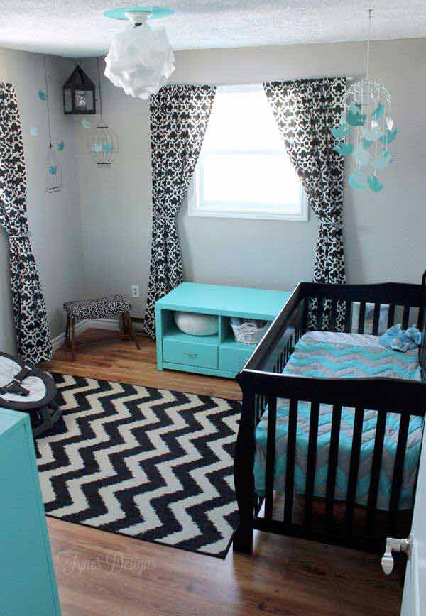 Baby Boy Room Color Ideas: 22 Steal-Worthy Decorating Ideas For Small Baby Nurseries