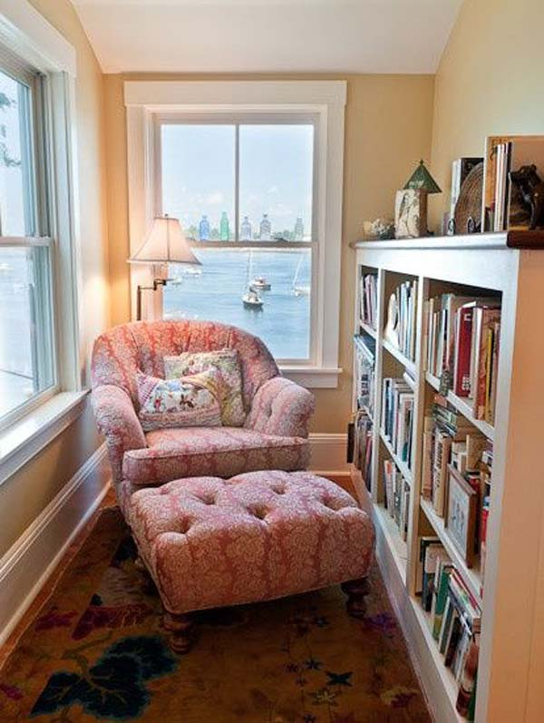 19 cozy and warm winter reading nooks you should have for Cozy reading room design ideas