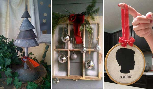 Genial 32 Astonishing DIY Vintage Christmas Decor Ideas