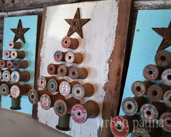 DIY-Vintage-Χριστούγεννα-ντεκόρ-21