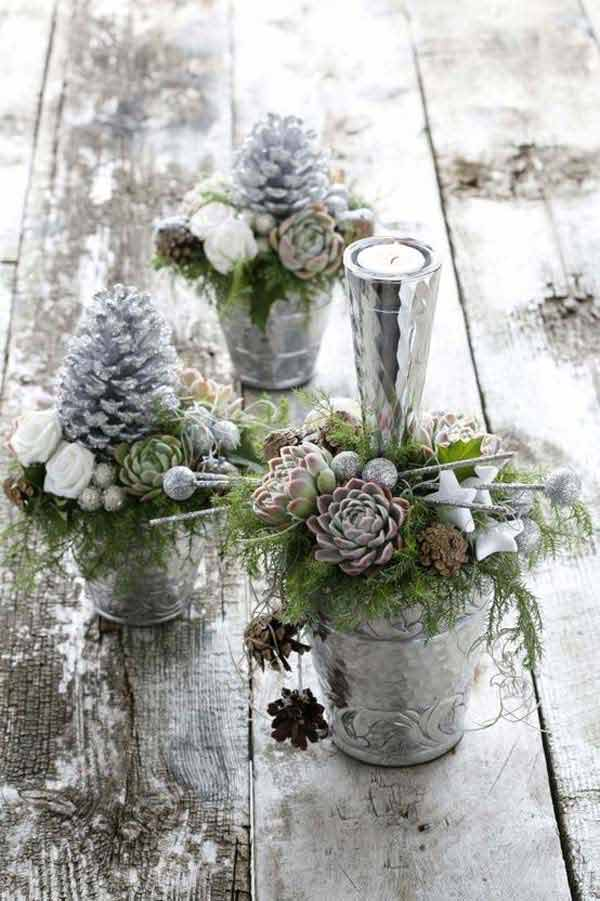 diy vintage christmas decor 30