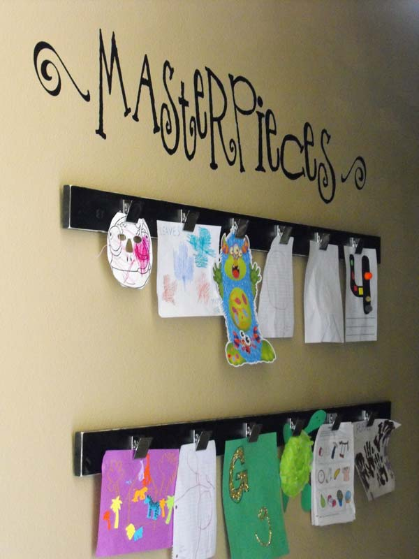 diy wall art for kids room 13