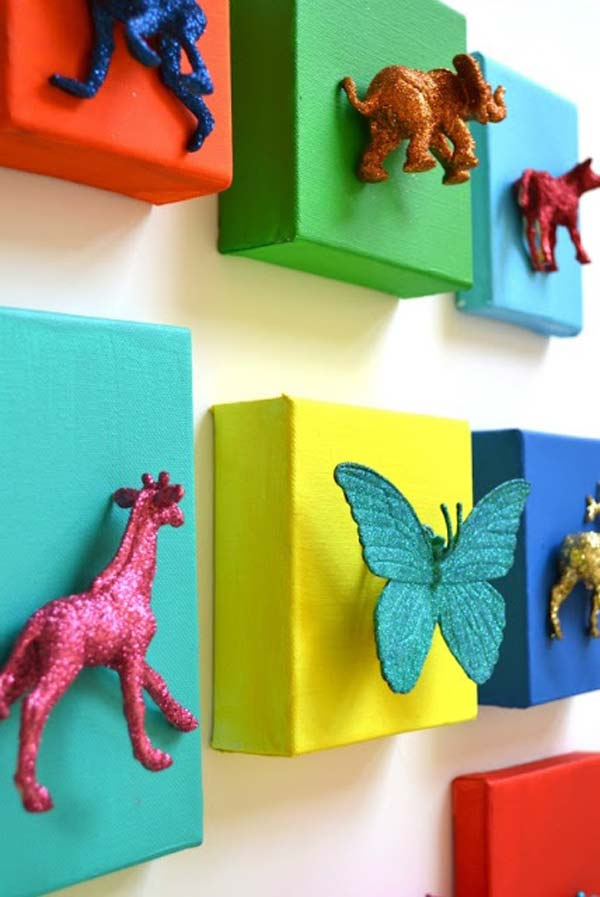 DIY Wall Art For Kids Room 17
