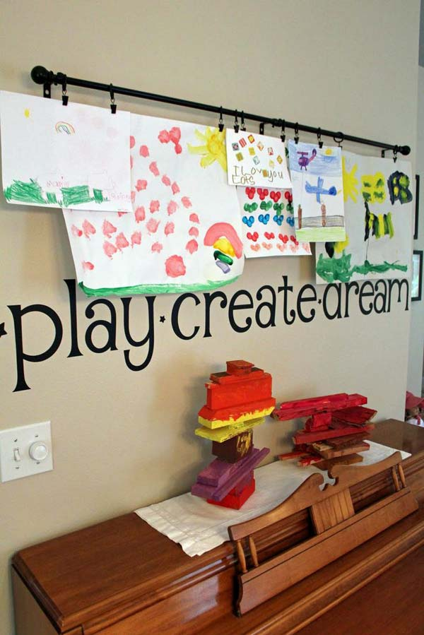 Top 28 Most Adorable Diy Wall Art Projects For Kids Room - Amazing