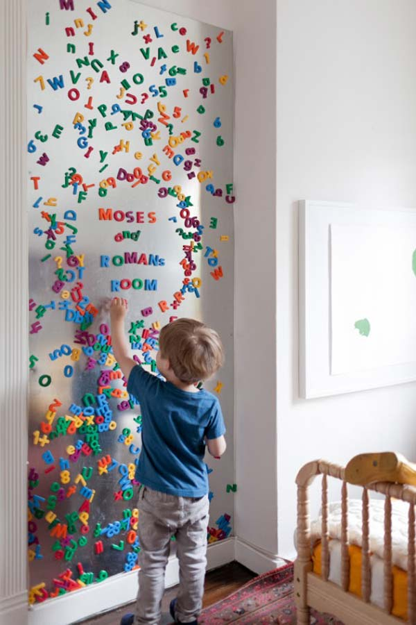 DIY-Wall-art-for-kids-room-21 & Top 28 Most Adorable DIY Wall Art Projects For Kids Room - Amazing ...