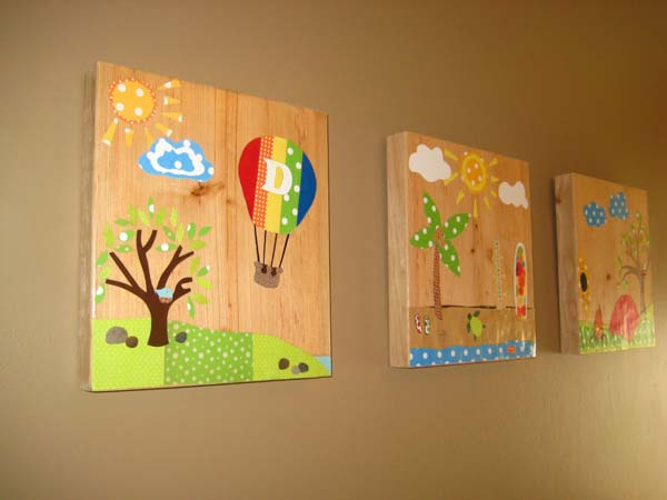 DIY Wall Art For Kids Room 26