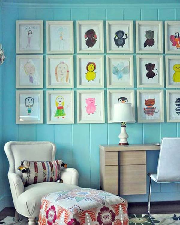 Kids Wall Art top 28 most adorable diy wall art projects for kids room