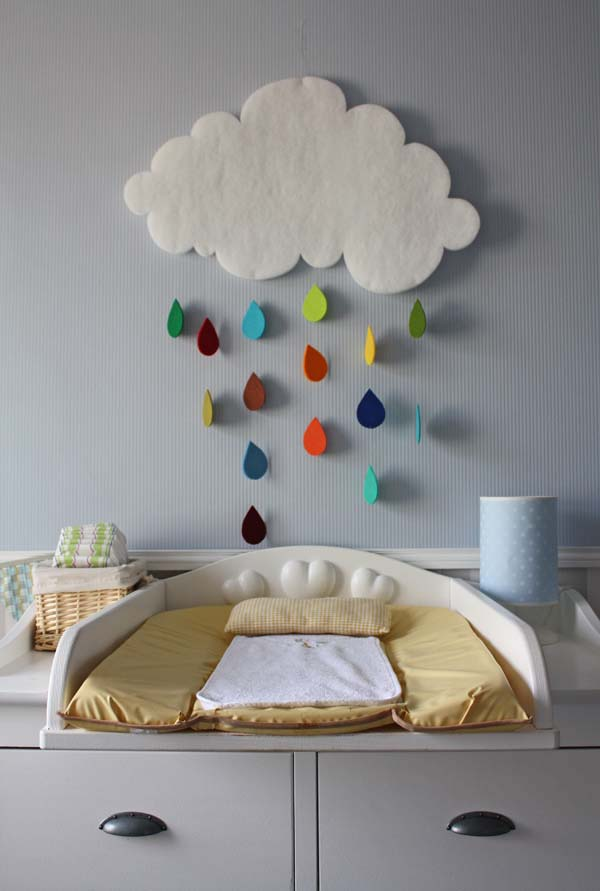 Diy Wall Decor For Baby : Top most adorable diy wall art projects for kids room