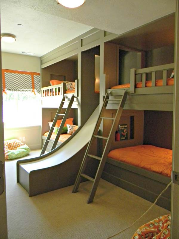 Superbe Bedroom Ideas For Four Kids 11