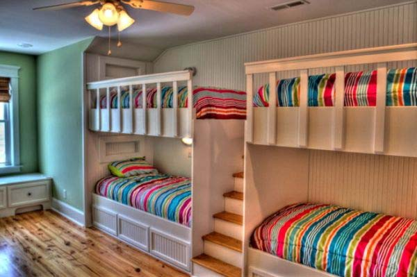 Bedroom Ideas For Four Kids 16