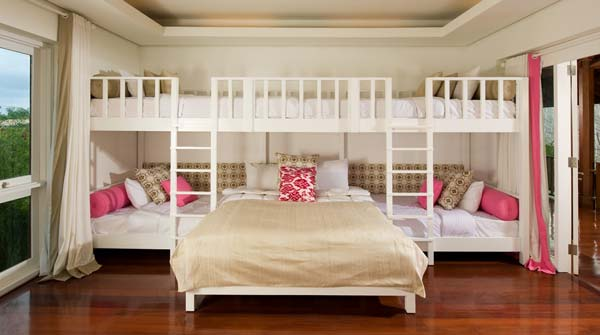21 most amazing design ideas for four kids room for 4 bunk beds in a room