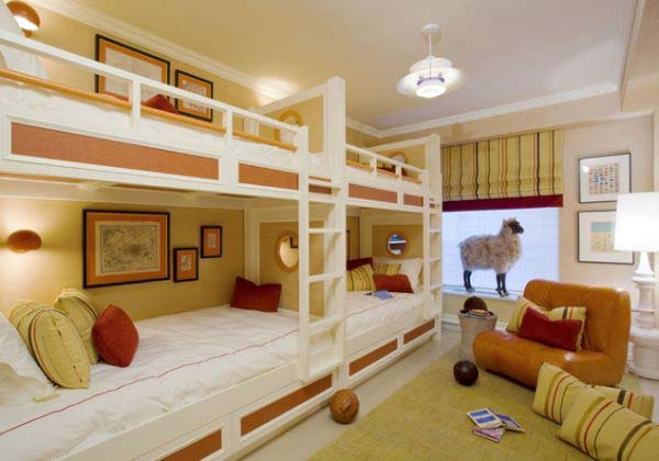bedroom ideas for four kids 21 - Bedroom Ideas Kids